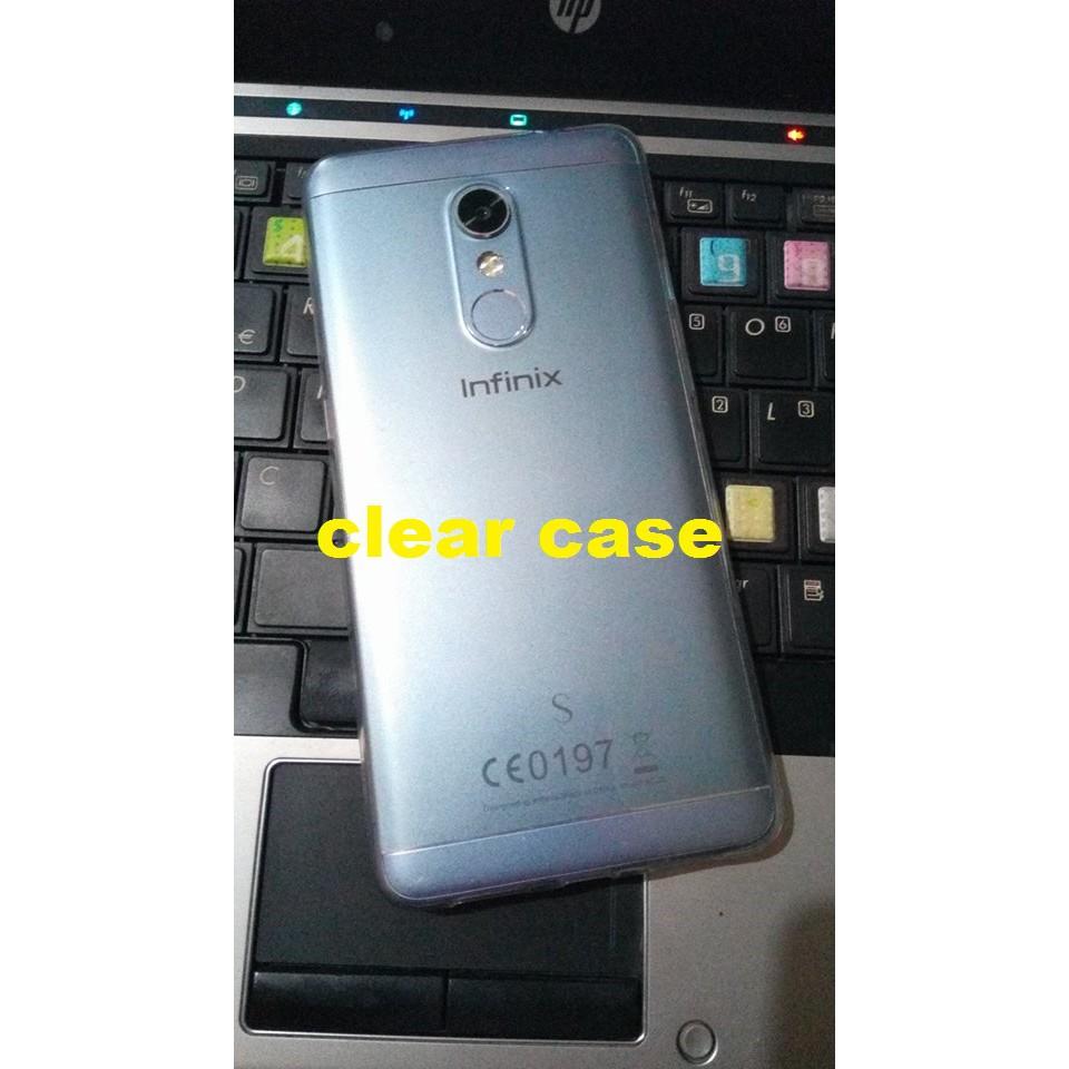 Infinix s2 pro clear case