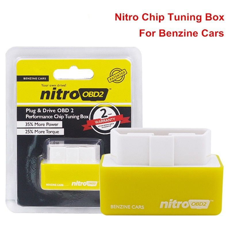 Autos OBD2 Plug/&Drive Fuel Saver OBD2 Performance Chip Tuning Box for Diesel Car