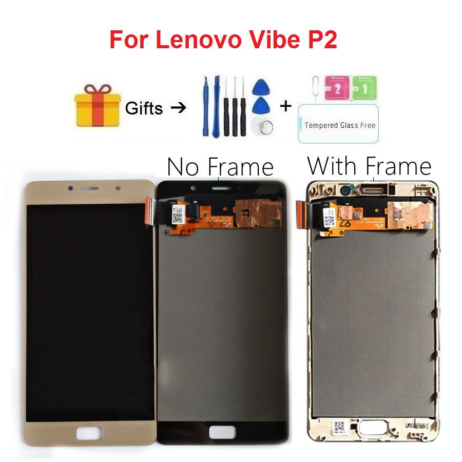 For Lenovo Vibe P2 P2c72 P2a42 LCD Display Touch Screen