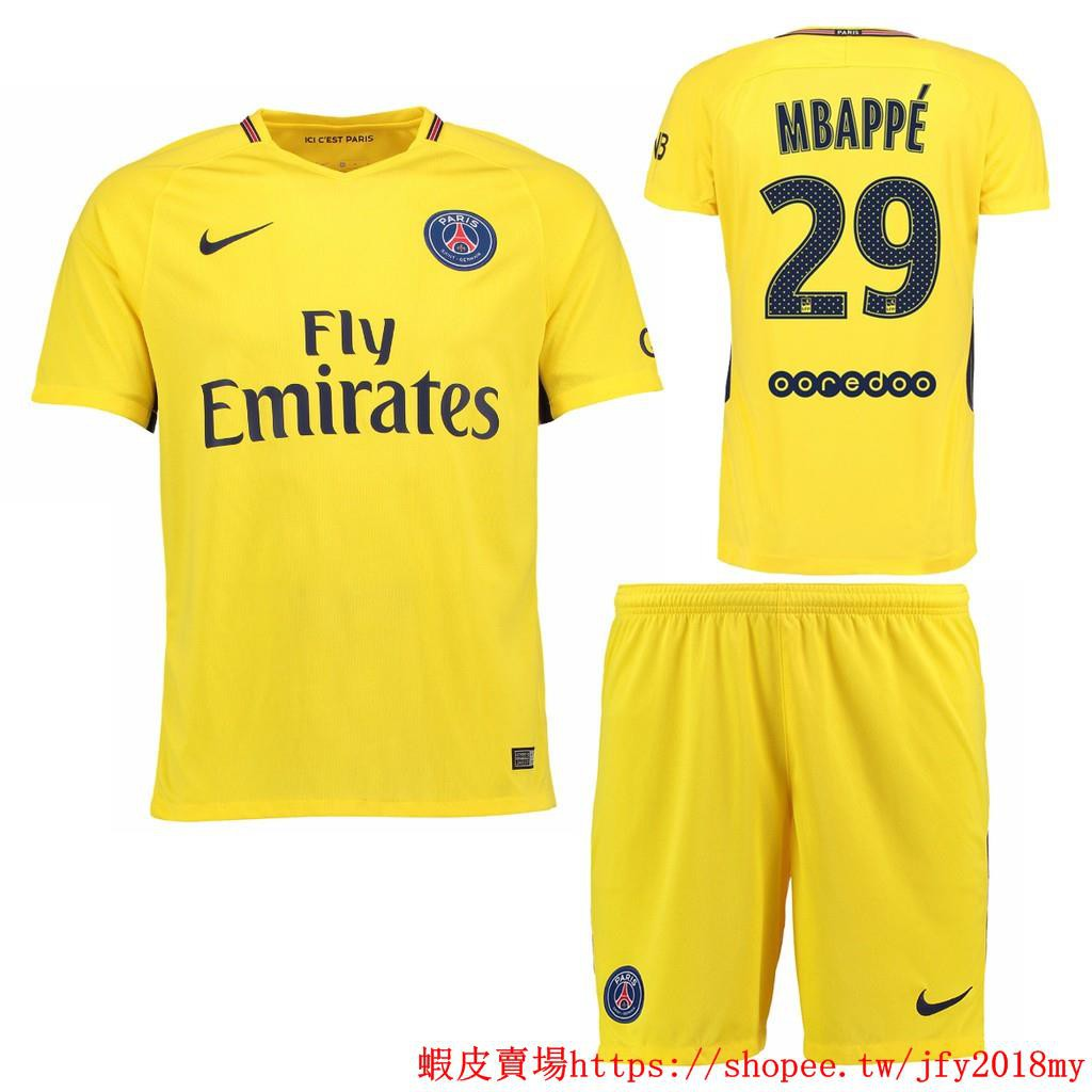 reputable site 038d0 60479 PSG NO.29 MBAPPE home kit football jersey soccer jersey ...