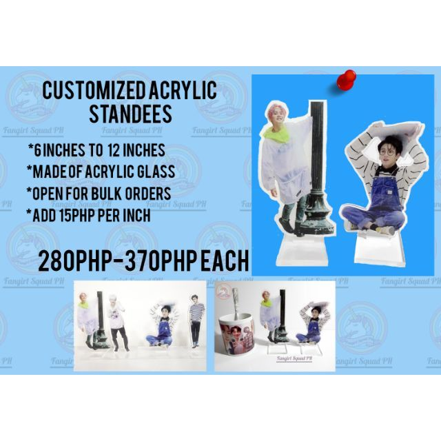 Personalized Acrylic Standees