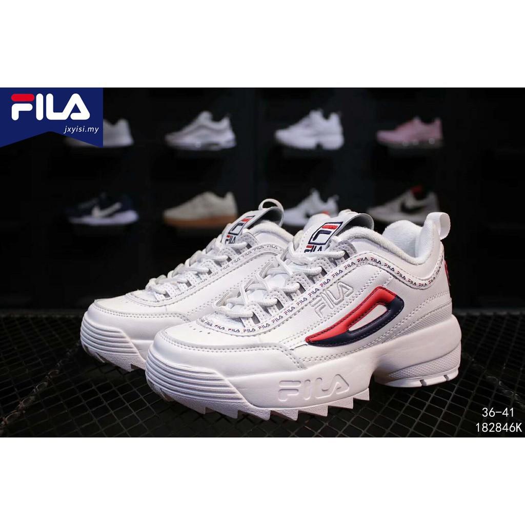 Fila Disruptor II 2 Generation Black - Korea Women Shoes  ed388a07ce