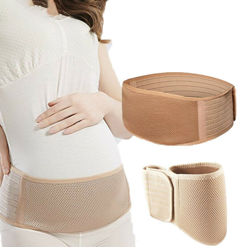 Pregnant Support Maternity Band Belt Waist Lumbar Lower Belly Protect Strap UK