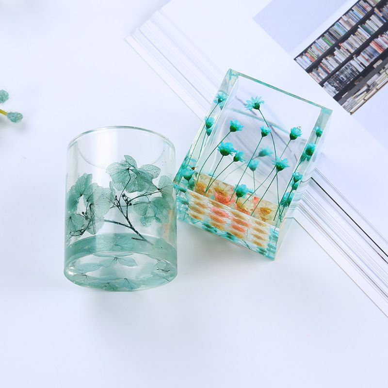 Cute Mini Size Straw Basket Silicone Mold Epoxy Resin Molds Jewelry Making Tool,