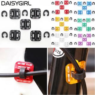 Bicycle Brake Cable Buckles Folding Line Guide Tubing Clamp Holder Tools