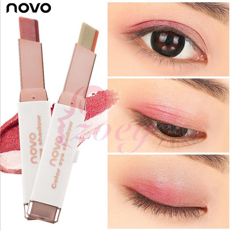 Beauty Essentials Bright Panda Glitter Eyeshadow 6 Color Lasting Waterproof No Makeup Easy Color Pearlescent Eye Shadow Powder Vibely Beauty & Health