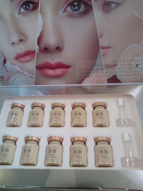 Dr Solutions BB Foundation MTS semi permanent Make Up 1box