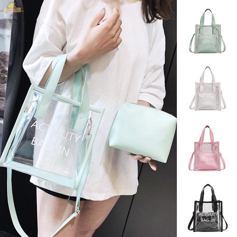 Details about  /Shoulder bag Messenger Handbag Satchel Tote Sling Summer Purse Cross body Clear