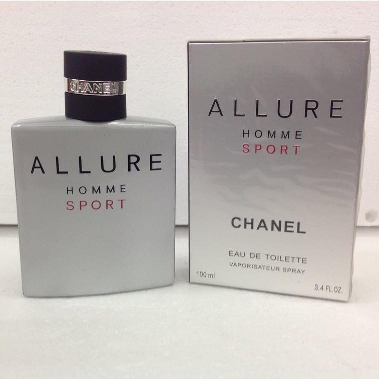 Chanel Allure Homme Sport EDT 100ml   Shopee Philippines 39faf9155ef