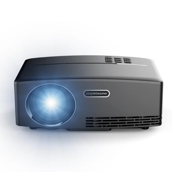 3a025f1503ab28 UC46 Mini LED Projector 800 x 480 1200Lm EU PLUG (Black) | Shopee  Philippines