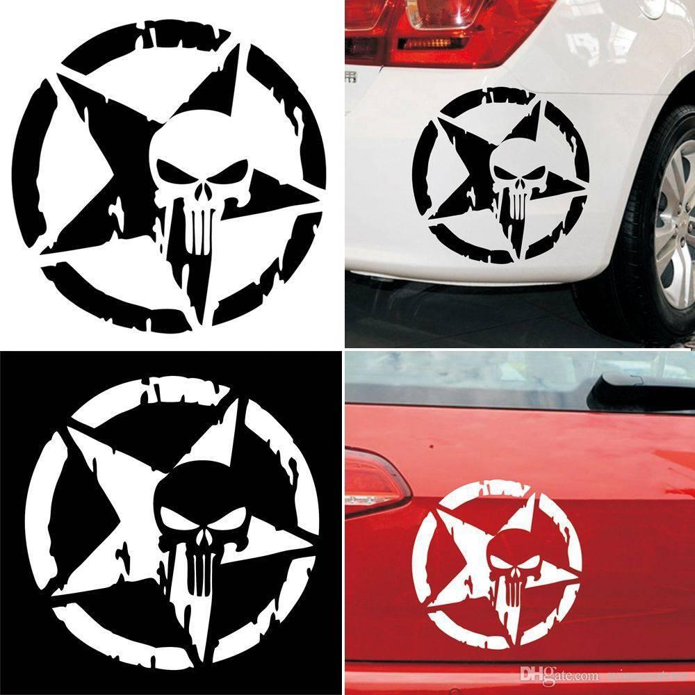 """Punisher sticker decal 4/"""" x 5/"""""""