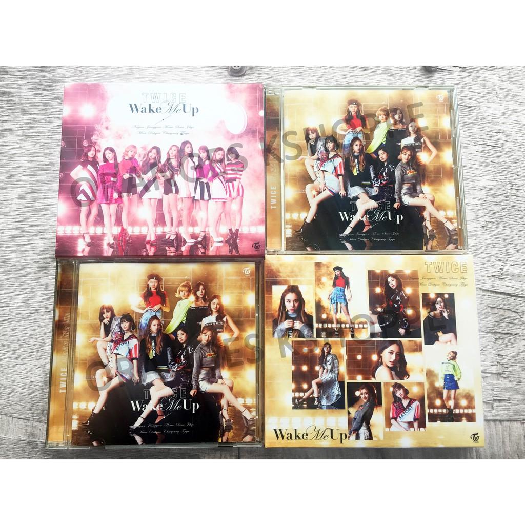 Twice Wake Me Up Jp Album Shopee Philippines