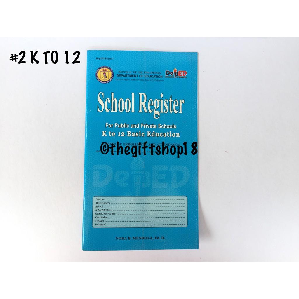 DepEd School Register | Shopee Philippines