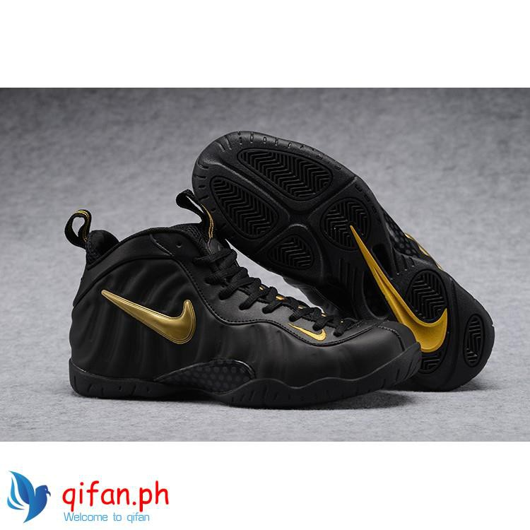 pretty nice 1f329 45dee 2018 Nike Air Foamposite Pro Black Gold