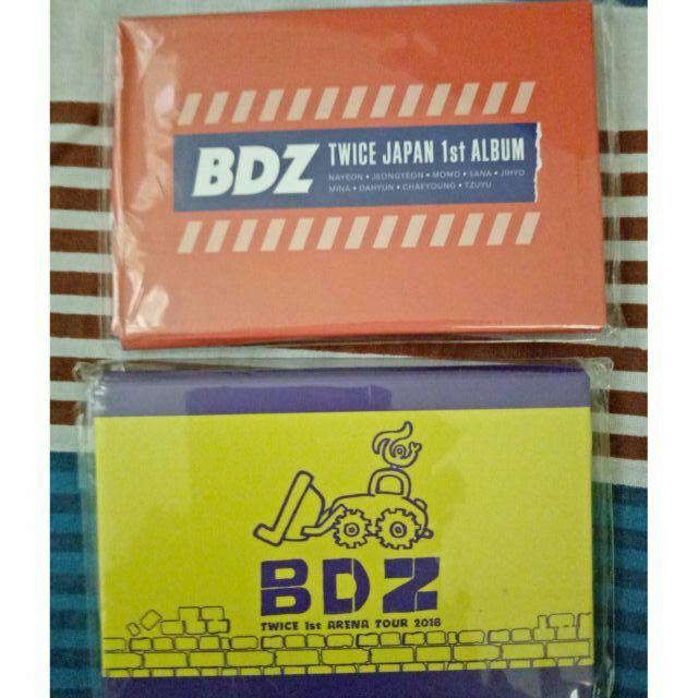 BDZ photocard sets (Super Arena & Hi-touch)