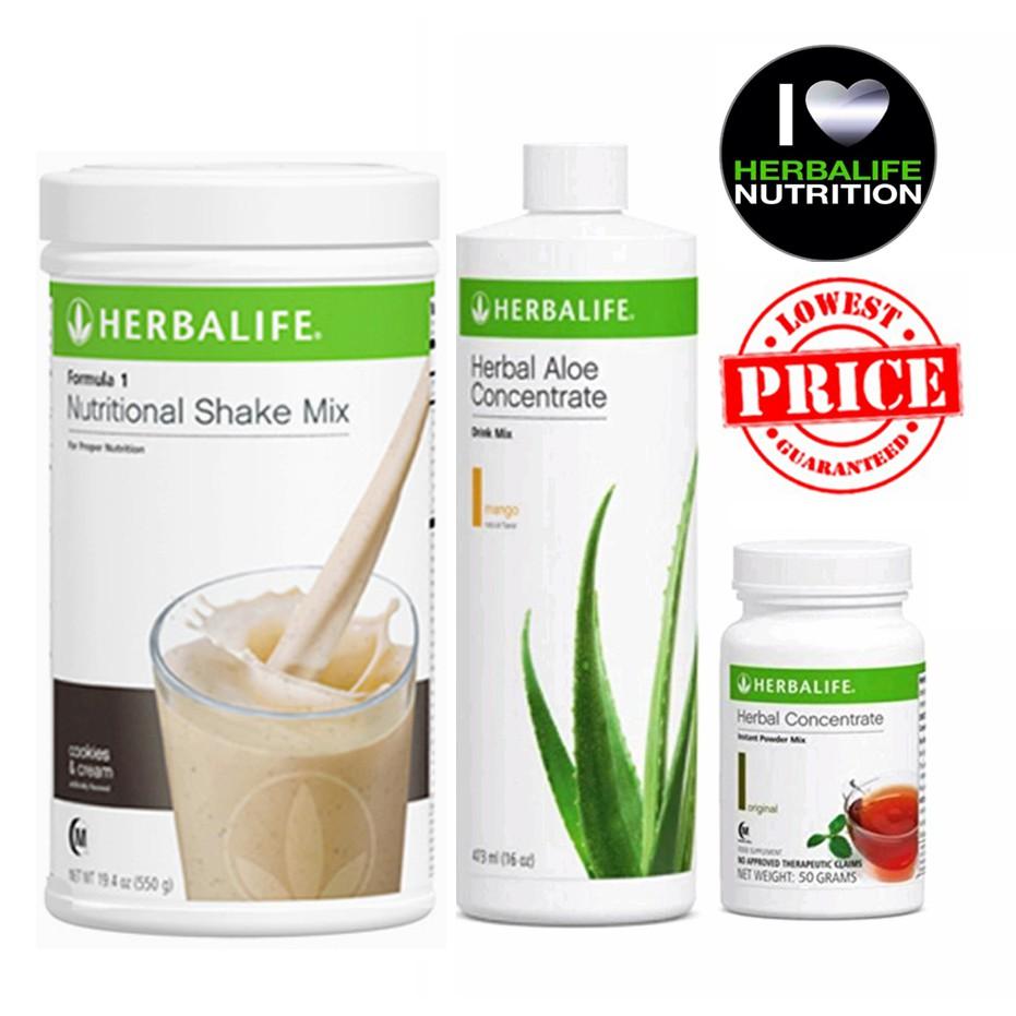 Herbalife STARTER PACK (Shake, Aloe