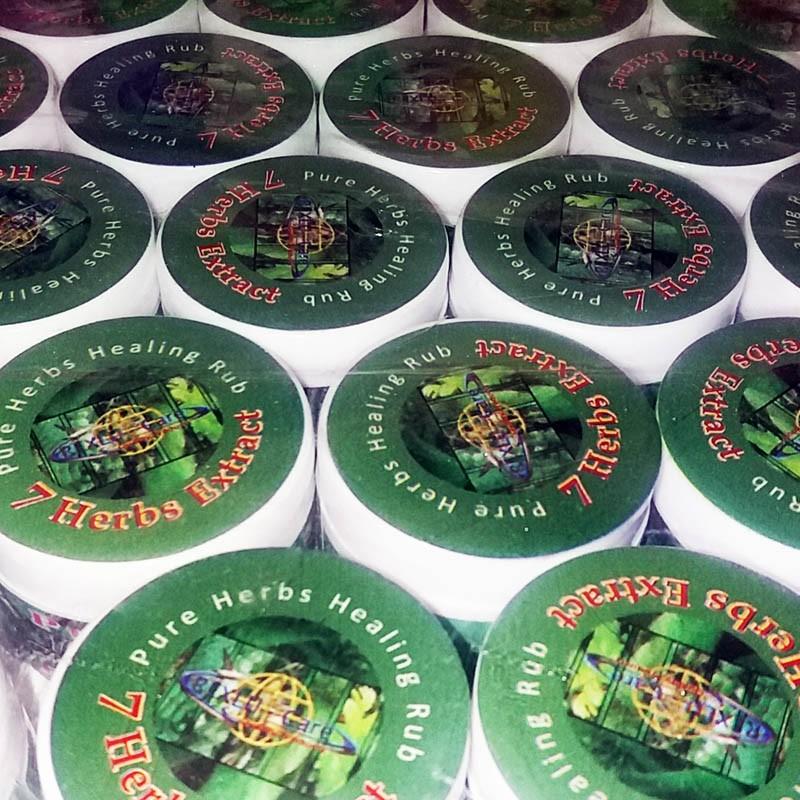 7HERBS Pure Healing Rub Buy 10 +2 Free
