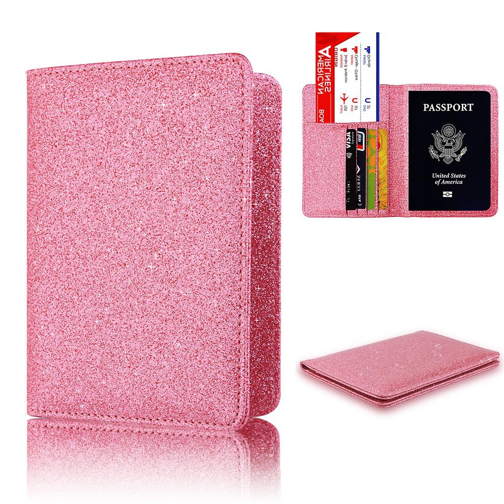 99de85a6b79c Shiny Passport Holder Wallet