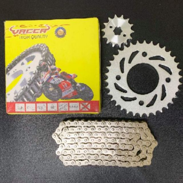 COD Vacca Chain And Sprocket Xrm 34T/14T 110L