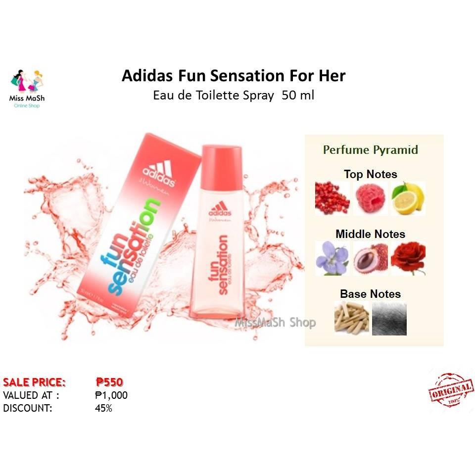 Adidas Get Ready For Her Eau De Toilette Spray 50 Ml 45 Off Parfum Original Shopee Philippines