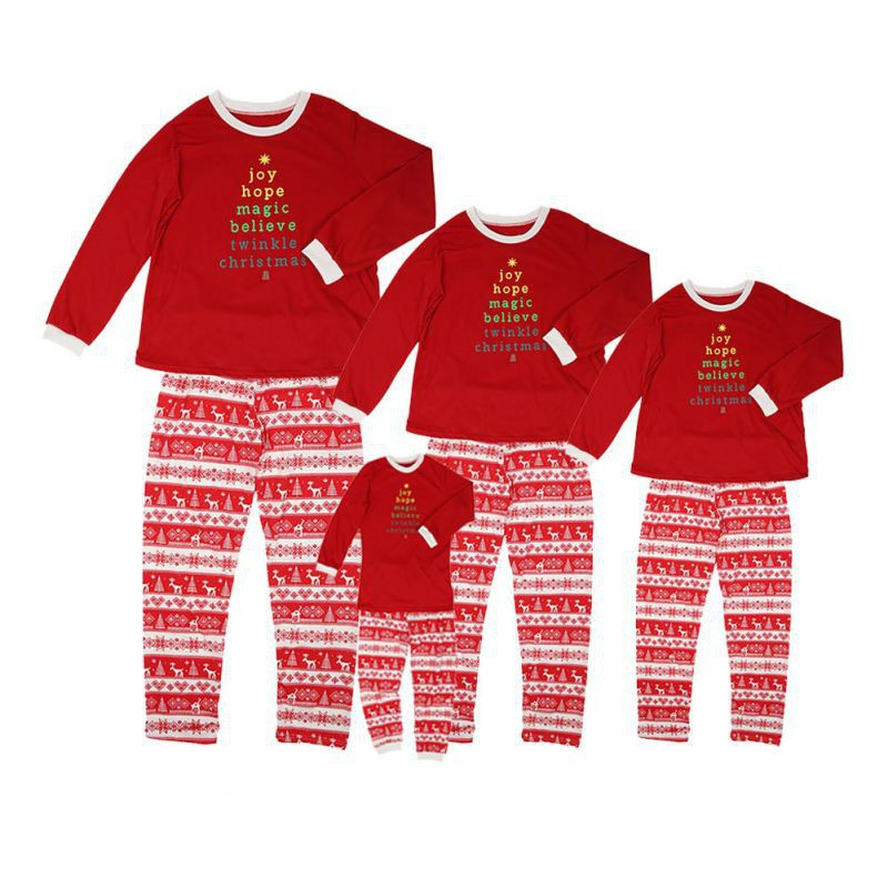 49478980a0 Nightwear Family Matching Christmas Pajamas Set-kids | Shopee Philippines