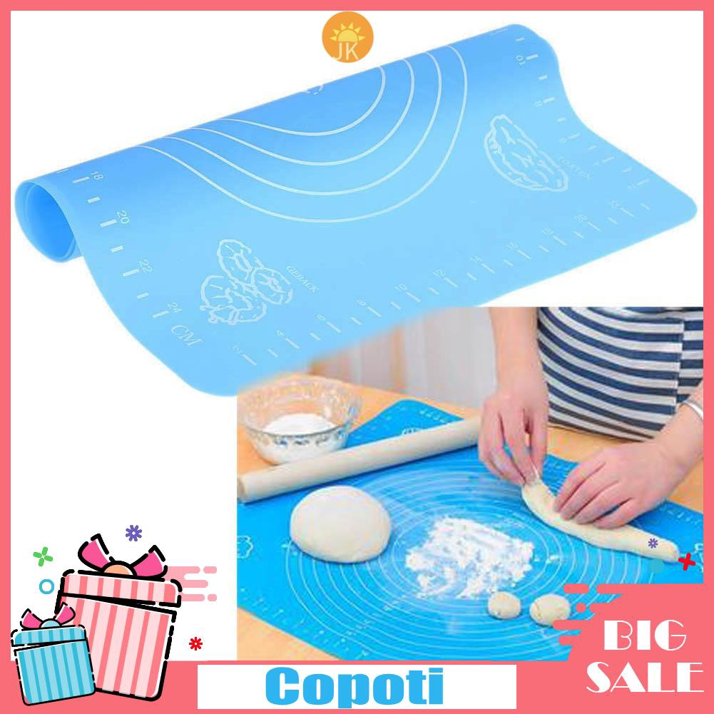Silicone-Baking Cakes Dough//Fondant Rollings Pads With Scale//Tables Kneading Mat