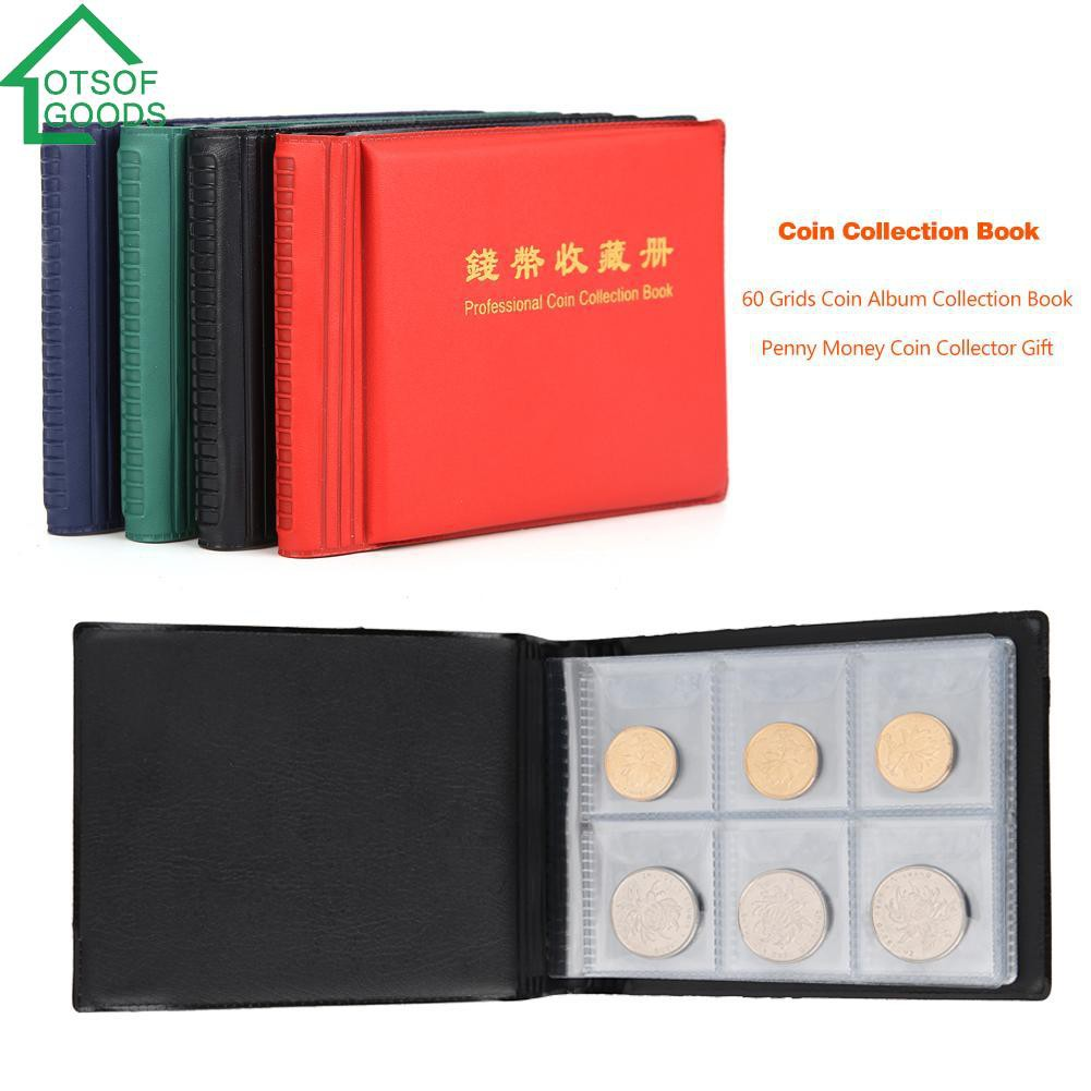 Collection Book Penny Money Coins