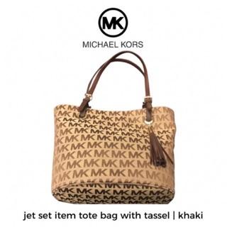 Michael Kors Mk Jet Set Item Tassel Tote Bag