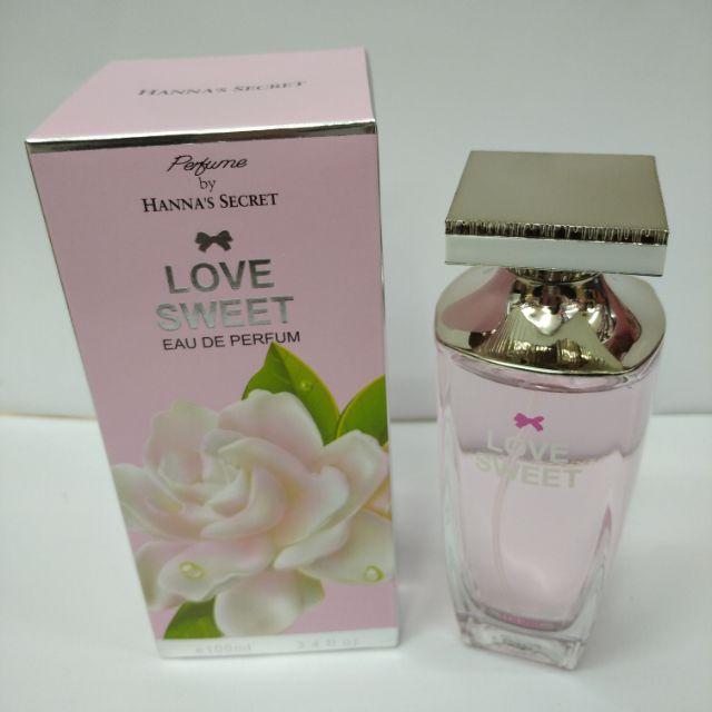 Perfume by Hannas Secret Love Sweet Eau De Parfum 100ml