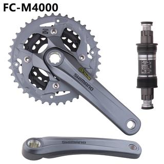 Shimano Alivio M4050 40//30//22t Crankset With Chainguide