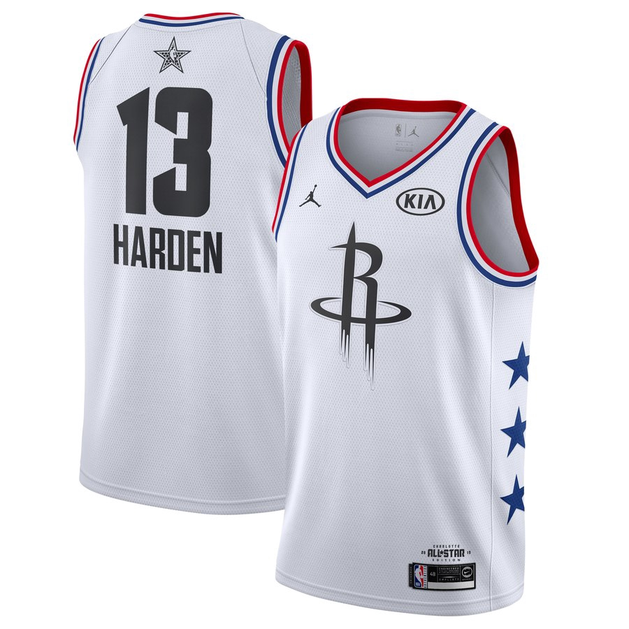 buy online ee158 c04f9 1819 NBA All Star Houston Rockets Sports James Harden Jersey