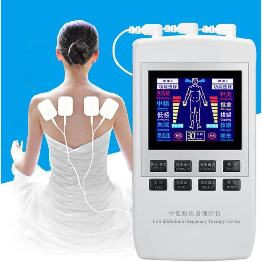 TENS EMS Pain Relief Electrical Nerve Stimulator Massager