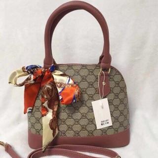 Gucci Handbag Sling Bag With Scarf