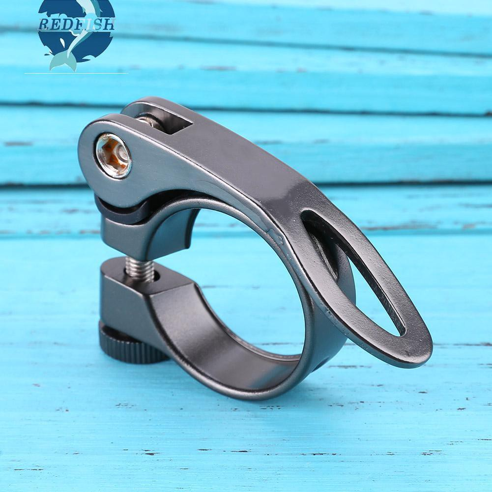 31.8mm MTB Bike Cycling Saddle Seat Post Seatpost Clamp Quick Release QR Style