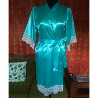 4b25f330a933 Tiffany Blue Bridal Robe