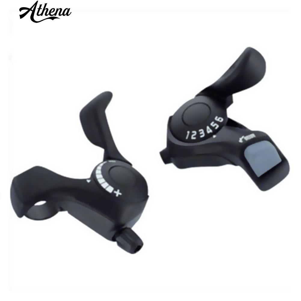 Shimano Tourney TX50 6-Speed Right and 3-Speed Indexing Left Thumb Shifter Set