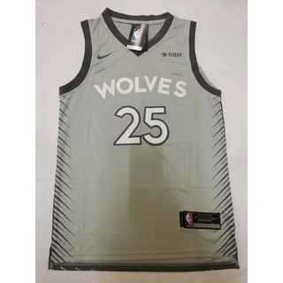 the latest 33fc7 78fca NBA WOLVES 25 Derrick Rose Swingman Basketball Jersey ...