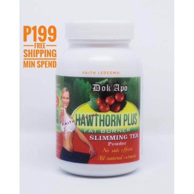 Dok Apo Hawthorn Plus Organic Slimming Tea Powder
