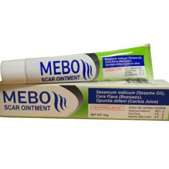 Mebo Scar Ointment Mso 40grams Tube Shopee Philippines
