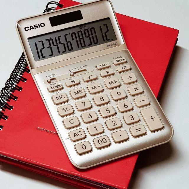 Casio jw200sc calculator casio ORIGINAL