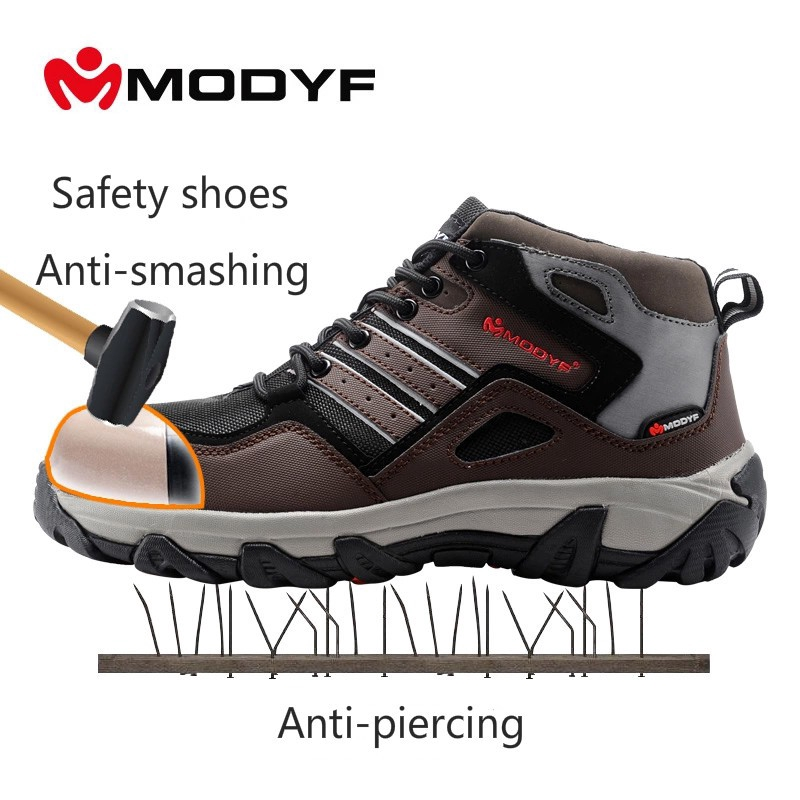 Back To Search Resultsshoes Breathable Reflective Casual Sneaker Prevent Piercing Protective Boots Steel Toe Work Safety Shoes Lightweight Work & Safety Boots