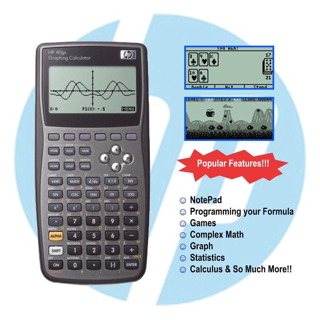 Scientific Calculator HP40gs