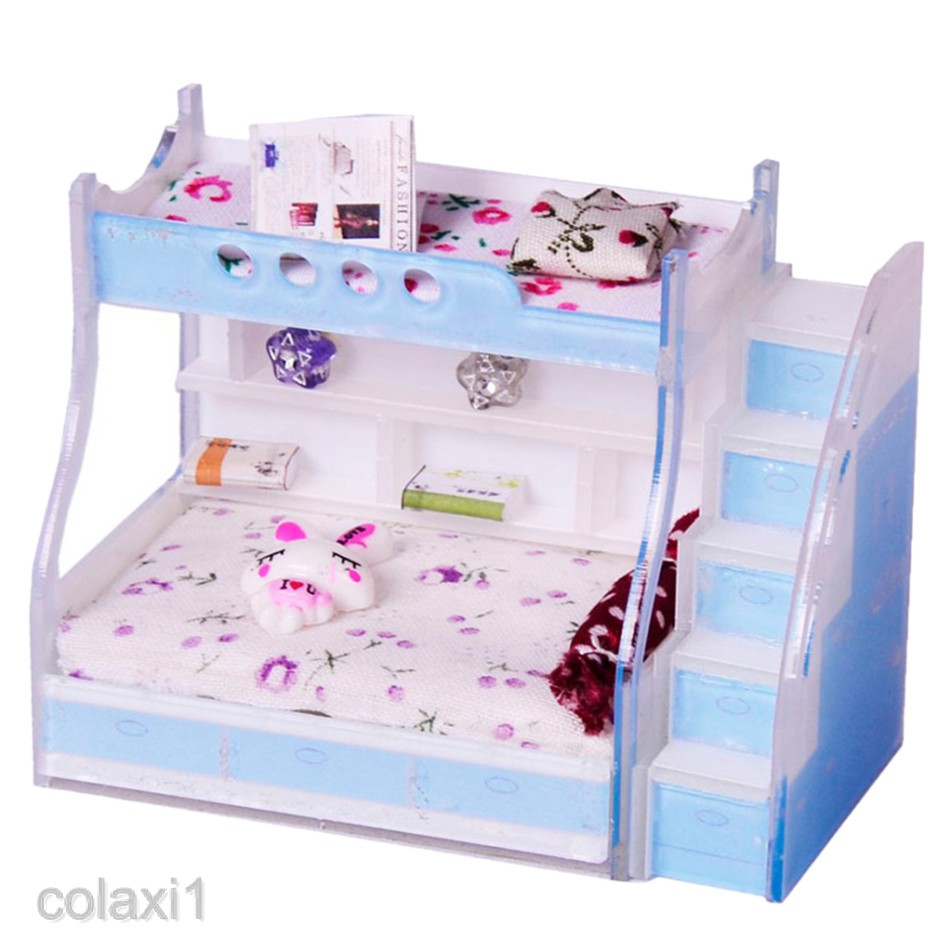 no 4 1:12 Scale Single Bed Kit