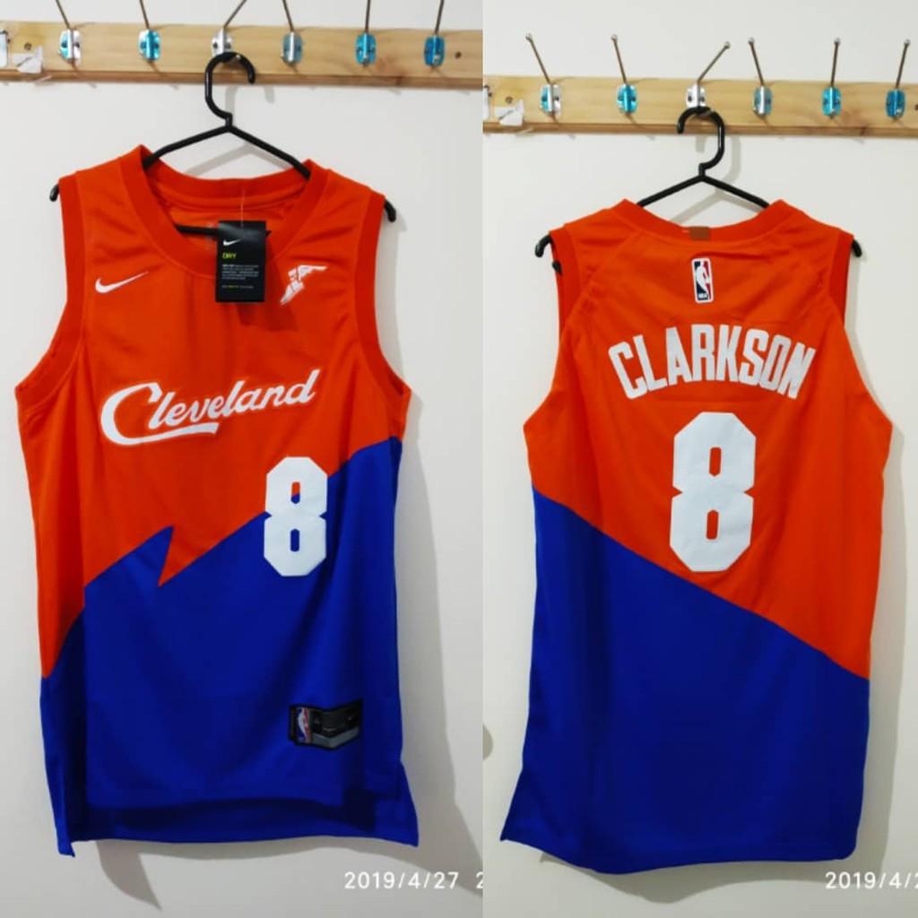06eb8234686 Jordan Clarkson Cleveland Cavaliers NBA Jersey City Jersey | Shopee  Philippines