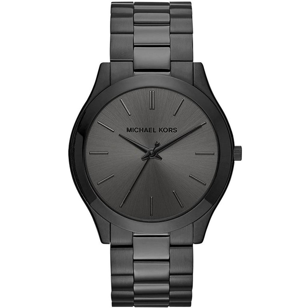 639945c29b72 Michael Kors Mens Brecken Silver-Tone Watch Mk8438