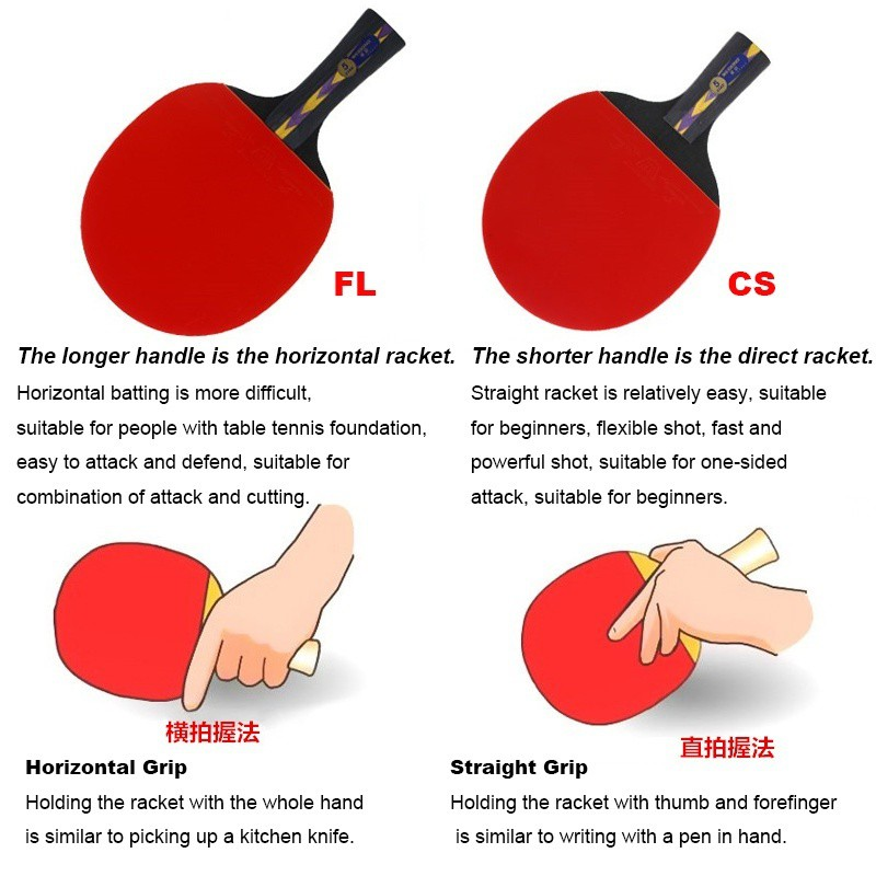 Best Ping Pong Grip