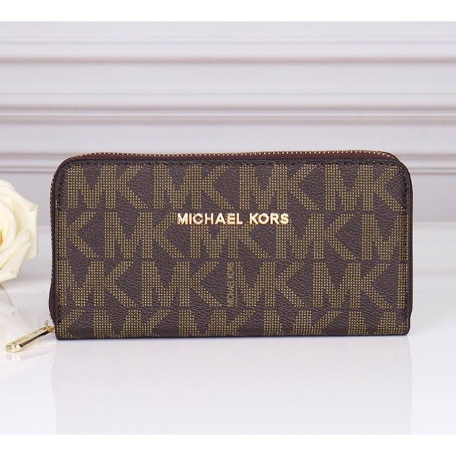 a187a41b1bfd AUTHENTIC Michael Kors Adele Smartphone Wallet Wristlet | Shopee Philippines