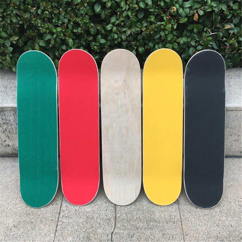 not deck 84*23cm Skateboard 4 Wheel Sandpaper Griptape Wear-Resistant Thickening  Deck Sandpaper Griptape