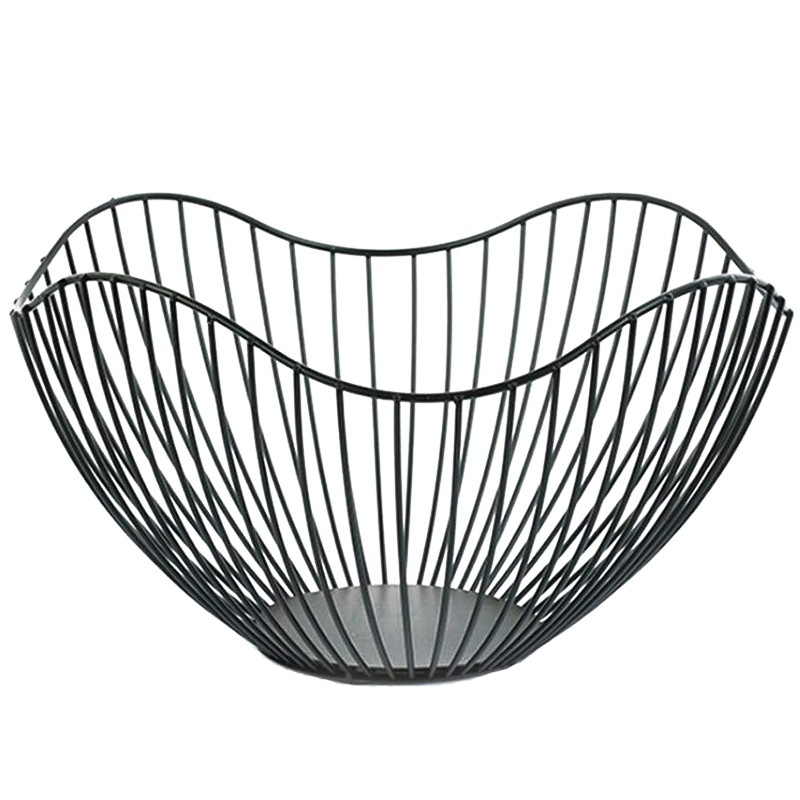 Metal Wire Fruit Container Bowls Stand