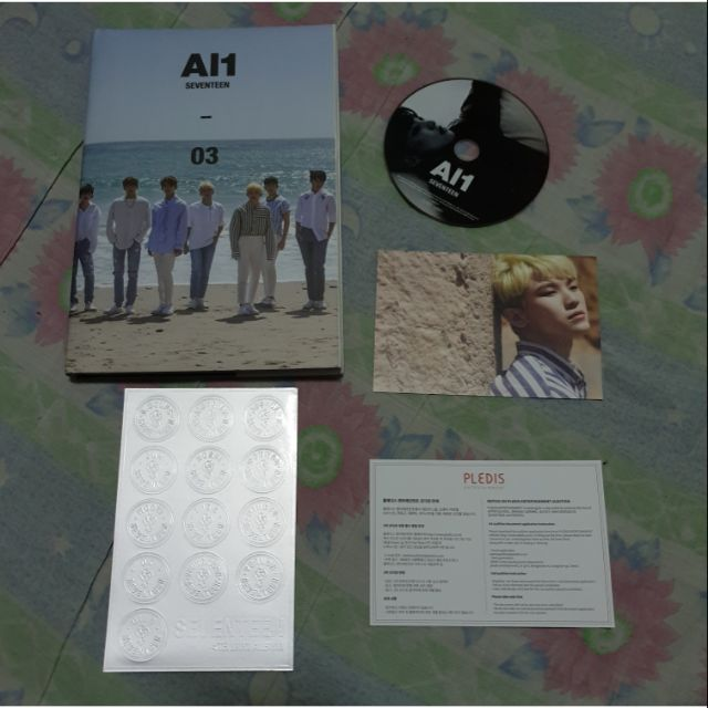 COD SEVENTEEN Al1 album SIGNED